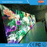 Schermo esterno di colore completo LED TV dell'affitto P6 per la fase mobile