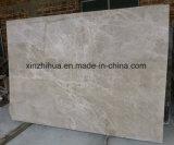 Marmo di marmo beige di Emperador dell'indicatore luminoso della lastra