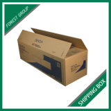 標準ブラウンの波形の休日の郵便利用者ボックス