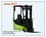 Venta caliente 1.5 Ton de tres ruedas Carretilla elevadora eléctrica E1530GS con motor de CA