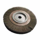 Brosse métallique de disque pour le polissage