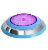 Lumière sous-marine changeante imperméable à l'eau fixée au mur de la lumière DEL de piscine de la couleur 12V