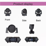 19 * 15W Mini LED Moving Head Wash Zoom pour Stage