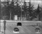 自動追跡機能(SHR-WHLV535TIR50R)の長距離PTZ赤外線画像のカメラ