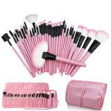 Vente en gros 32PCS Pink Professional Complete Cosmetic Makeup Brushes Set