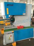 Machine hydraulique de serrurier de machine de découpage de poutre en double T/ouvrier en acier