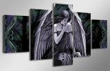 HD afgedrukt het Schilderen van de Schedel van het Meisje van de Engel Canvas mc-027 van het Beeld van de Affiche van het Af:drukken van het Decor van de Zaal van het Af:drukken van het Canvas