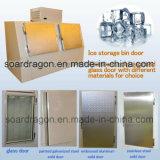 Eisspeicher-Sortierfach-Gefriermaschine für eingesacktes Eis