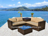 2017新しいデザイン枝編み細工品または藤の庭のソファーの屋外の家具