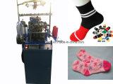 Máquina para hacer punto automatizada del calcetín de Terry