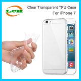 Cas transparent clair mou de TPU pour l'iPhone 7