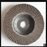 지르코니아 거친 회전 숫돌 모래로 덮는 플랩 절단 디스크