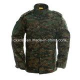 デジタル森林カムフラージュAcuの軍の衣類