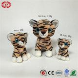 Le cadeau normal se reposant de peluche de tigre de la CE de qualité badine le jouet animal