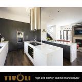 Gabinetes de armazenamento feitos sob encomenda da cozinha com projeto Tivo-0144h da despensa e do console