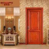 Fabricação de porta de madeira personalizada de madeira principal (GSP2-056)