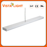 Super Light 40W 100-277V Pendente Linear de LED