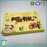 Caixa de papel personalizada para doces com inserção de plástico