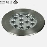Lumières souterraines d'étage enterrées par haute énergie de l'acier inoxydable DEL