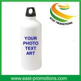 bottiglia di alluminio della bevanda 750ml con il coperchio della paglia