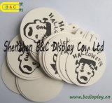 Coaster de cortiça absorvente de luz, tapete de cortiça de chá, tapete com SGS (B & C-G112)