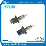 Adaptador de fibra óptica Simplex Sm para a rede de transmissão de fibra óptica