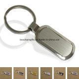 Porte-clés en métal promotionnel la moins chère avec logo de marque