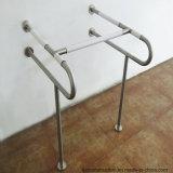 Ss304 & rotaie di nylon della gru a benna della barra di gru a benna dell'acquazzone della stanza da bagno per il Disable