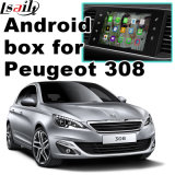 Casella Android di percorso di GPS per l'interfaccia del video della Peugeot 308 Mrn Smeg+