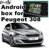 Peugeot 308 Mrn Smeg+のビデオインターフェイスのための人間の特徴をもつGPSの運行ボックス