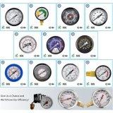 009 Typ Standarddruckanzeiger-Druck Gas oder Liqulid