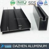 Perfil de alumínio do fabricante de alumínio para a porta do indicador que anodiza o bronze anodizado