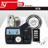LED-Bildschirmanzeige-Taktgeber-Motorrad-Warnungs-wasserdichtes heißes Verkaufs-Audio