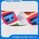 Preiswertes Zoll-Polyester-Drucken-Material-Satin-Farbband 100%