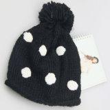 POM Pomsの帽子はパターン帽子、編まれた帽子、方法冬の女性の帽子を編んだ
