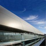 PE/PVDF cubrió 20 años del panal de los paneles de revestimiento de aluminio de la pared