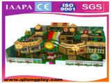 Campo de jogos colorido das crianças do tema do bolo interno (QL-17-2)