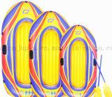 Kajak gonfiabile della zattera della canoa di vita di pesca del PVC dell'OEM