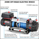 12500lbs 4WD Eléctrico Alto Torque 12V DC Motor Winch