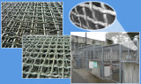 Stainless Steel Woven Crimped Wire Mesh for Because Mesh Grid