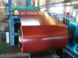 Le premier de la bobine d'acier prépeint/PPGL/gi feuille Couleur de la bobine d'acier prépeint