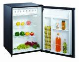 frigorifero di colore del codice categoria di a+ retro con la mensola di vetro