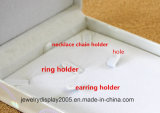 Het witte Pak Pu van de Partij van het Huwelijk van de Halsband van de Armband van de Ring van de Oorring van de Dozen van de Gift van Juwelen