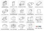 Qualidade de Impressão a Cores da Caixa de plástico PP PVC Caixa Caixa dobrável