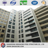 Edificio residencial comercial prefabricado certificado de la estructura de acero