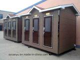 Snel Geconstrueerd van de Leveranciers van China de Geprefabriceerde Openbare Cabine van het Toilet