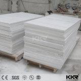 Strato di superficie solido acrilico di struttura di marmo artificiale del reticolo