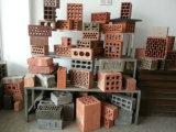 Maquinaria de tijolos de barro de solo de argila profissional para a Rússia