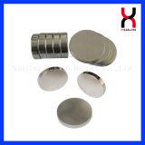 Imán redondo sinterizado alta calidad del círculo de NdFeB (D13*2mm)