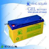 Batterie rechargeable de système solaire de gel de 12V 150ah